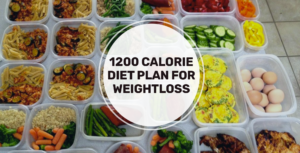 Simple 1200 calorie meal plan for weight loss