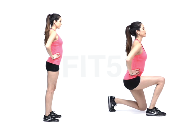 full body workout Lunges