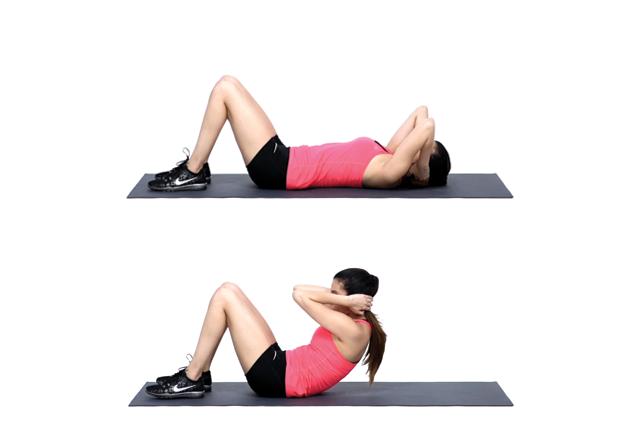 full body workout sit ups