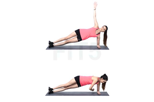 Full body workout twists