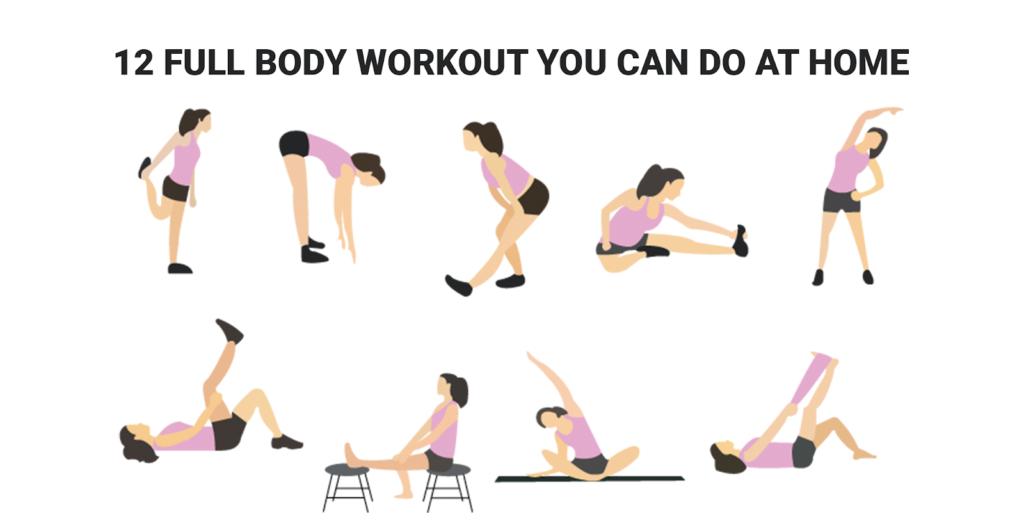 Full body workout exercises